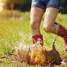 Cómo construir un drenaje para patio