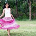 ¿Cómo hacer una falda folclórica?
