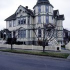 Características exteriores de la arquitectura de estilo victoriano