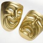 História das máscaras gregas