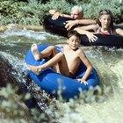 ¿Cuáles son los peligros de los flotadores circulares de agua con los niños?