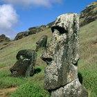 How to make a moai statue