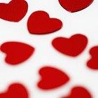 Formas de representar el amor utilizando símbolos gráficos