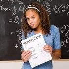 Cómo lidiar con hijastros cuando están obteniendo malas calificaciones