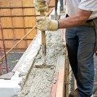 How to put pea gravel in concrete