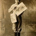 Cómo hacer un periódico de los viejos tiempos