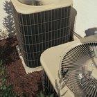 El efecto de la lluvia en una unidad de aire acondicionado