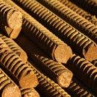 Cómo calcular los empalmes de las barras de acero corrugado