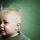 Como arrumar o cabelo arrepiado do bebê