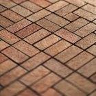 Como fazer uma calçada de tijolos
