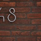 How to Use Gorilla Glue on Bricks for House Numbers