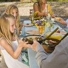Cómo enseñarle a los niños a comer con la boca cerrada
