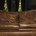 Como consertar um sofá de couro que esteja seco e rachado