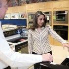 Cómo funciona el flujo de gas a través de un regulador de gas de una estufa de una cocina