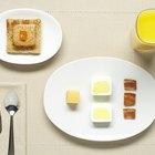 Medidas y usos de los platos