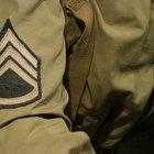 Cómo identificar un rango militar a través de símbolos