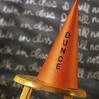 How to Make a Dunce Hat Out of Paper
