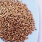 Flax seeds are a rich source of omega-3s.