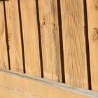Cómo impermeabilizar una cubierta de madera en el jardín