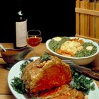 Prepared Osso buco Veal shank and mashed potatoes