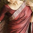 Cómo hacer un sari con una sábana