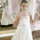 How to Put on a Communion Veil