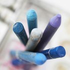 How to remove pastel oil stains