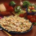 Cómo hacer nachos de pollo mexicanos