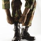 Cómo abuchonar pantalones militares