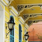 French Colonial homes include a raised ceiling for ventilation purposes.