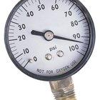 Como instalar um manômetro de pressão num tubo para água