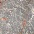 Real marble provides a good model for faux marbleing.