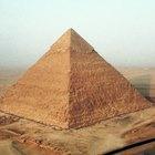 Cómo dibujar una pirámide
