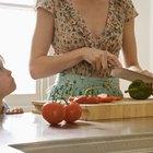 Como manter o pimentão cortado fresco