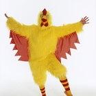 Como fazer uma fantasia de galinha para um adulto