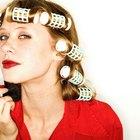 Cómo usar los rulos eléctricos para el cabello