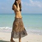 Convertir una falda larga en un lindo vestido de verano