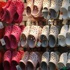 Cómo limpiar, lavar y desodorizar Crocs y sandalias de goma