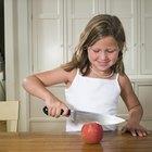 Cómo hacer rodajas de manzana y canela
