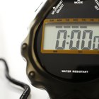 How to stop the hourly chime on a sportline stopwatch
