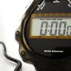 Como funciona um cronômetro?