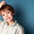 Cómo tratar la caspa en los niños