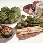 Vegetales comunes en la cocina italiana