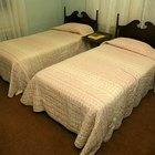 Como transformar duas camas de solteiro em uma cama de casal