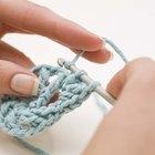 Cómo tejer al crochet aros ovalados o en forma de gota