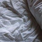Como amaciar lençóis duros feitos de uma mistura de poliéster