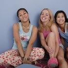 Manualidades para una fiesta de pijamas de adolescentes