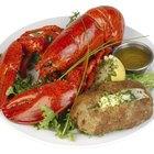 Comidas que combinam com lagosta