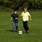 How Kids Should Kick a Soccer Ball