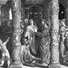 Actividades para los niños sobre Pedro y Juan en el templo